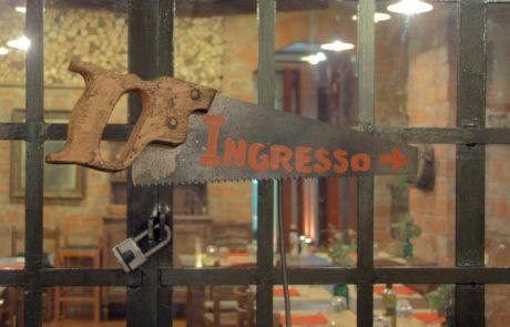Foto della nostra trattoria Galeria sega ingresso